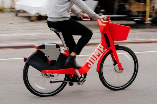 Uber's JUMP bikes are seeing high utilization rates