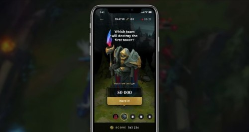 WARD is an app for placing fantasy predictions on esports games