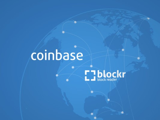 Coinbase Acquires Blockchain Explorer Blockr.io