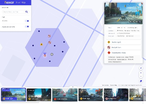 Nexar's Live Map is like Street View with pictures from 5 minutes ago