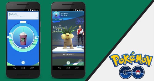 Pokémon GO is officially teaming with Starbucks for 7,800 new Gyms and PokéStops