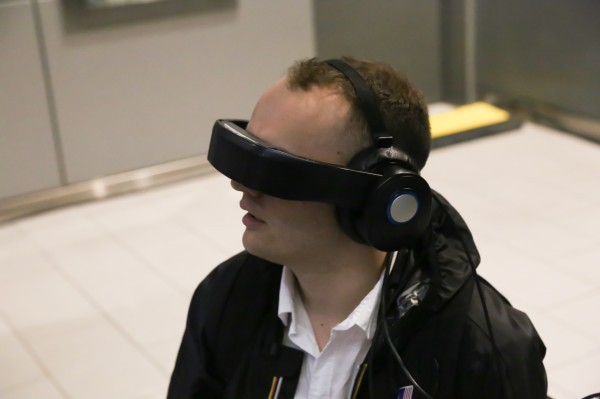Hands On With The Avegant Glyph, A Head-Mounted Display For The Average Commuter