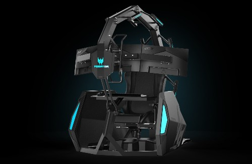 Acer announces a $14,000 gaming chair because why not