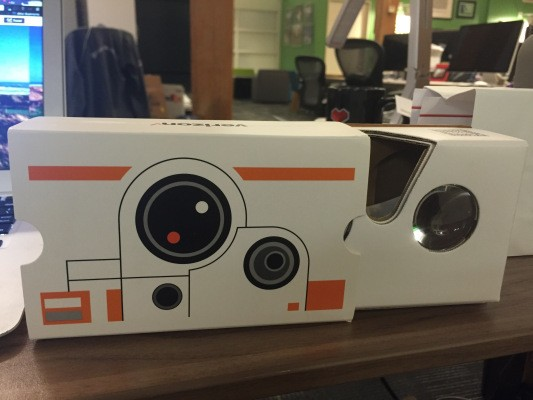 Get A Free Star Wars Edition Google Cardboard