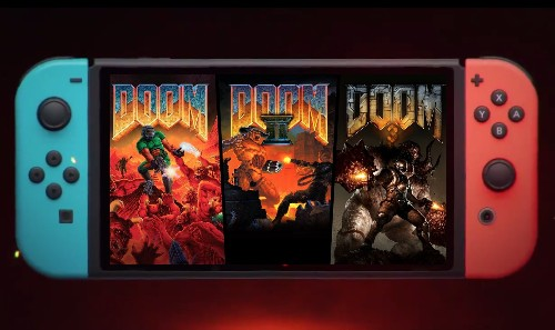 Old-school Doom and its sequels come to Switch, Xbox One and PS4