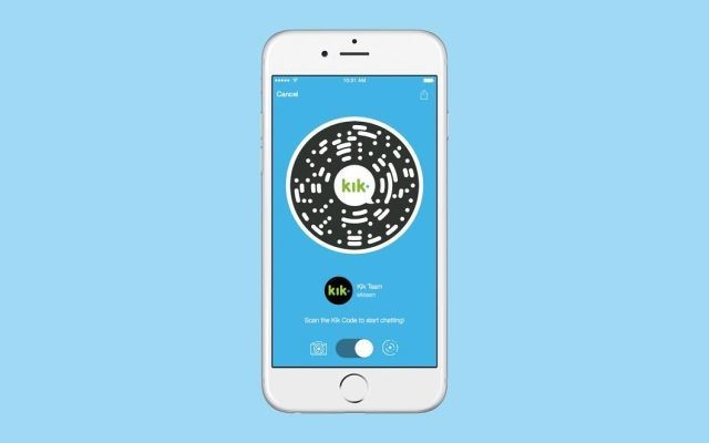 Chat App Kik Introduces QR Codes To Connect Users And Brands