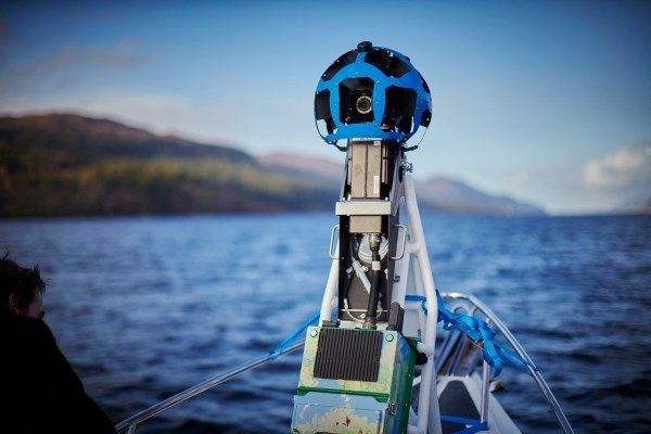 Google Brings Street View To Loch Ness