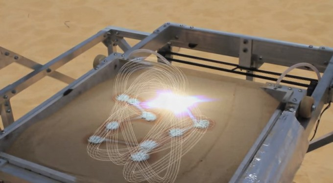 3D Printing With Sand Using The Power Of The Sun