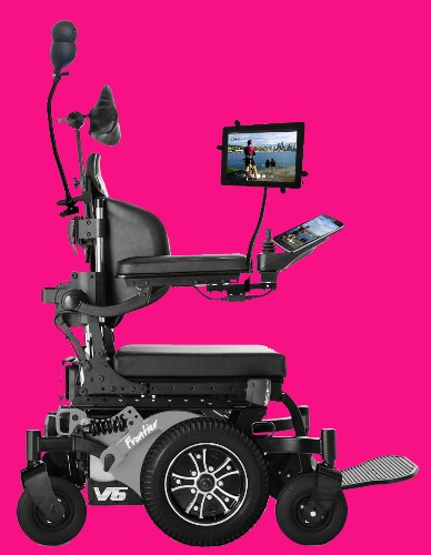 Loro's mounted wheelchair assistant puts high tech to work for people with disabilities