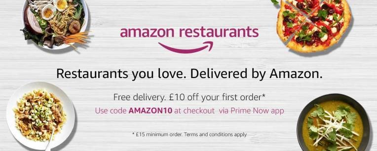 Amazon closes its restaurant delivery service in London