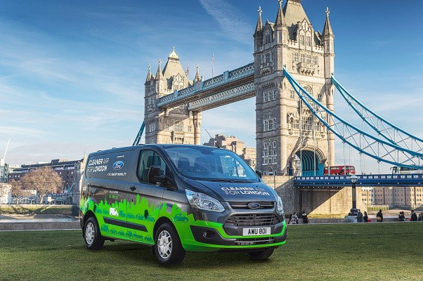 Ford begins testing Transit Plug-in Hybrids in London ahead of 2019 production