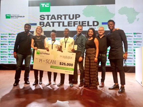Ultra-affordable ultrasound startup M-SCAN wins TechCrunch Startup Battlefield Africa