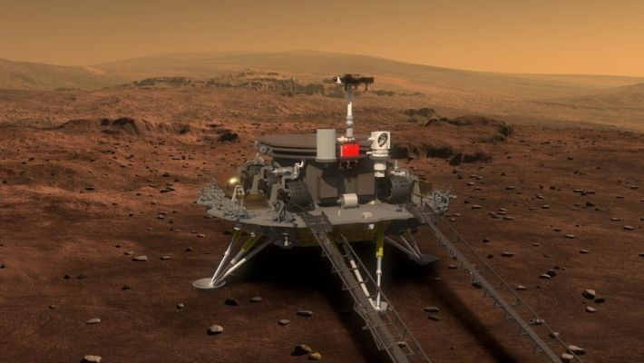 China's first Mars rover is en route to the red planet after successful launch of Tianwen-1