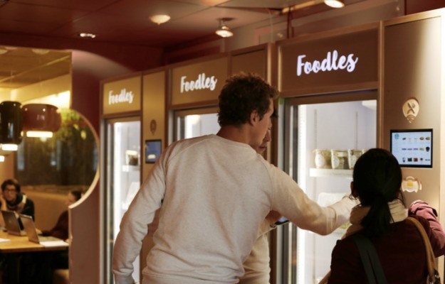Foodles uses connected fridges to modernize your office canteen