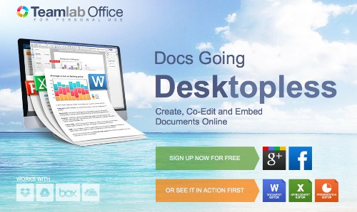 TeamLab, A Canvas-Based Document Editor, Wants To Send Microsoft Office 365 Back To The Drawing Board