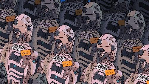 At AI bot startups, cool kids rule