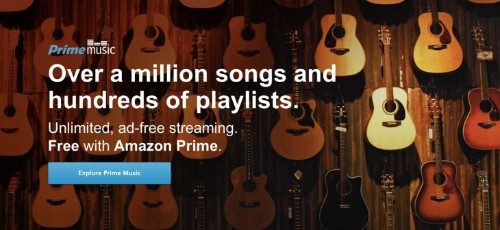 Amazon Turns On Prime Music Streaming, Sans Current Hits