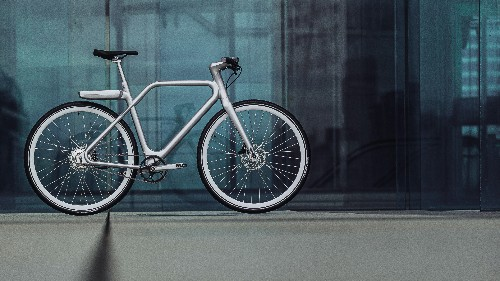 Angell is a smart bike with an integrated display