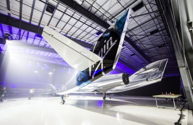 Virgin Galactic Unveils New SpaceShipTwo, The VSS Unity