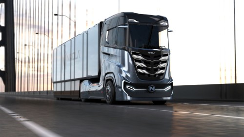 Nikola Motor unveils a new hydrogen semi truck designed for Europe