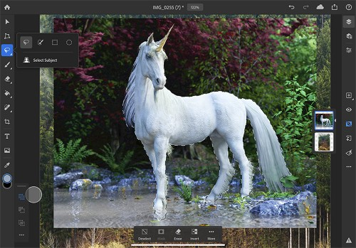 Adobe details feature roadmap for Photoshop on the iPad, subject selection coming in 2019
