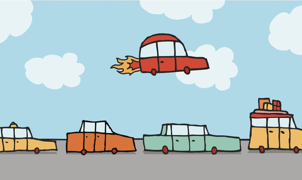 Our self-flying car future