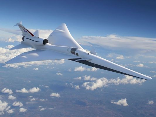 NASA seeks to build a quieter supersonic plane for passenger flight