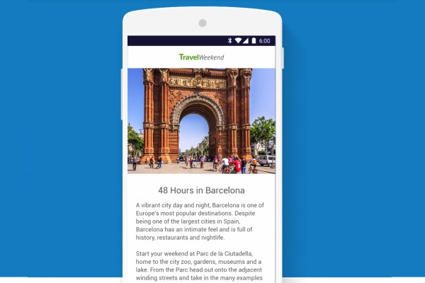 Google's Plan To Accelerate The Mobile Web Will Go Live In February