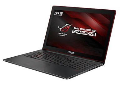 Asus Republic Of Gamers G501 Notebook Is Under An Inch Thick With A 4K Display