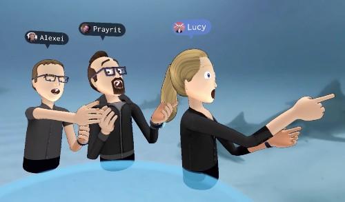 "Facebook invents ""virtual reality emoji"" gestures"