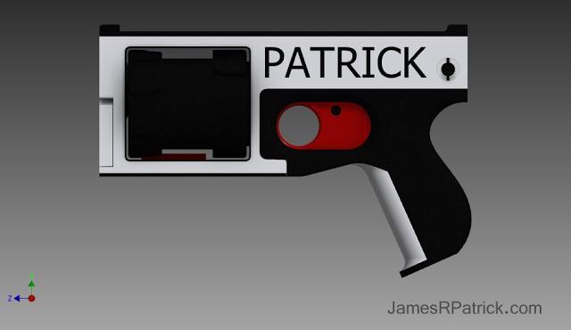 Designer Releases A 3D-Printed Revolver