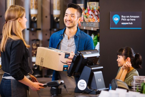 Amazon expands its in-store pickup service, Counter, to thousands more stores