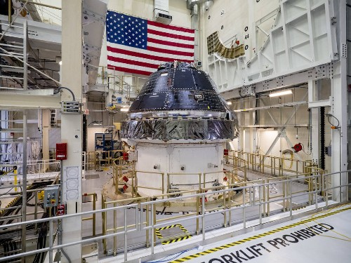 NASA orders up to a dozen Orion spacecraft from Lockheed Martin for Moon missions
