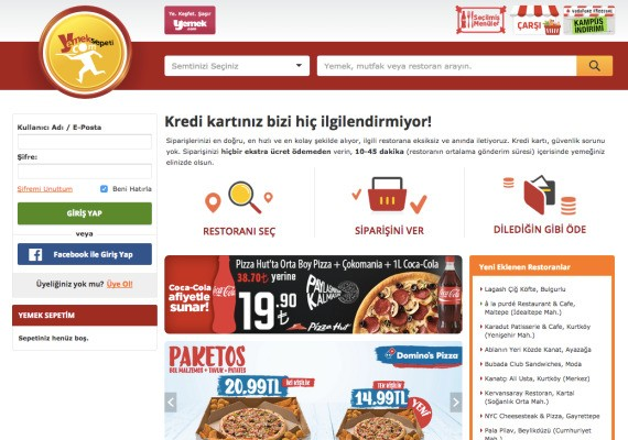 Delivery Hero Eats Up Turkey's Yemeksepeti For A Record $589M