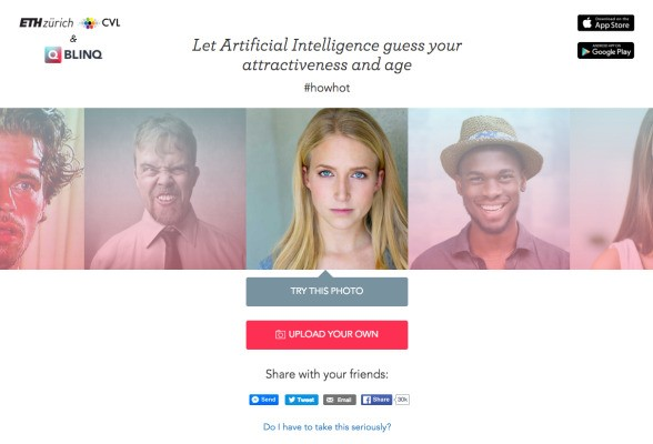 Blinq Dating App Uses AI To Judge Hotness