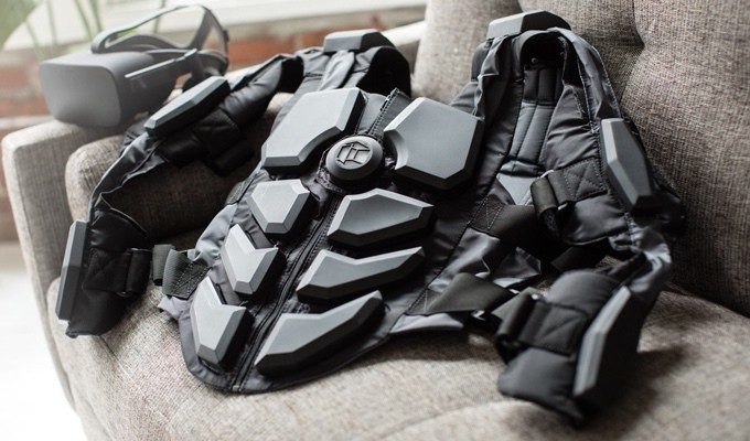 The Hardlight VR Suit will vibrate all of your bodily buttons