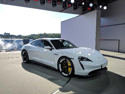 Porsche unveils the $150,900 Taycan Turbo electric sedan