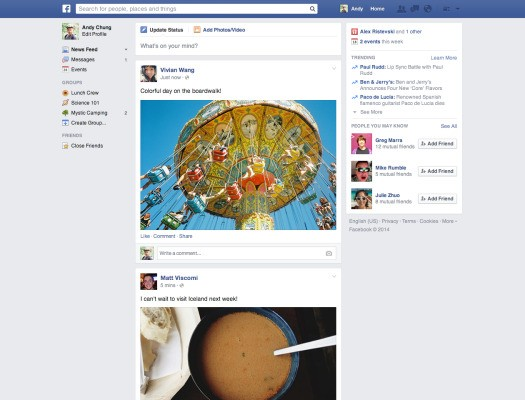 Facebook Rolls Out Simplified News Feed That Leaves Content And Ads Alone