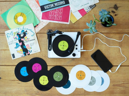 This adorable tiny record maker lets you cut your own 5-inch vinyl singles – TechCrunch