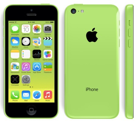 Apple's iPhone 5c Will Run $549, $649 Off-Contract