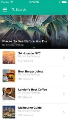 Pin Drop's Rebuilt Location Bookmarking App Answers A Need Foursquare Missed