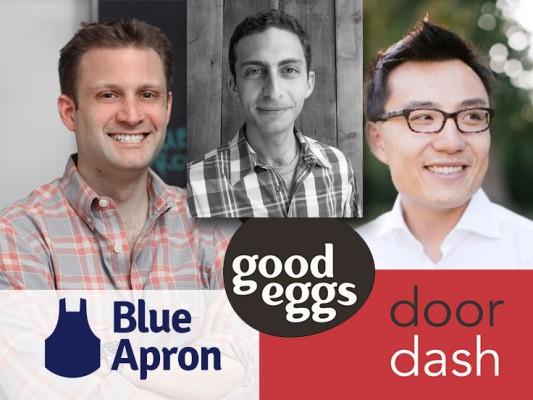Announcing The New Convenience Economy Disrupt Panel With Blue Apron's Matt Salzberg, Good Eggs' Rob Spiro, And DoorDash's Tony Xu