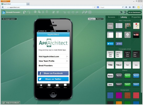 AppArchitect Lets Anyone Build iOS Apps, No Coding Or Templates Necessary