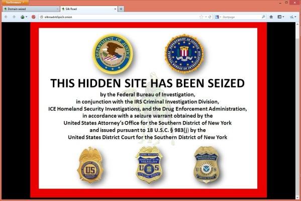 FBI Seizes Deep Web Black Market Silk Road, Arrests Owner