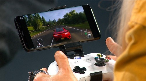 Microsoft shows off Project xCloud with Forza running on an Android phone