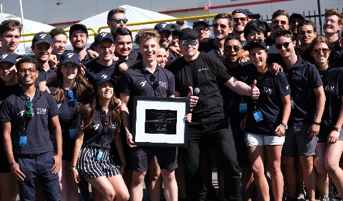 Team TUM wins SpaceX Hyperloop Pod Competition with record 288 mph top speed