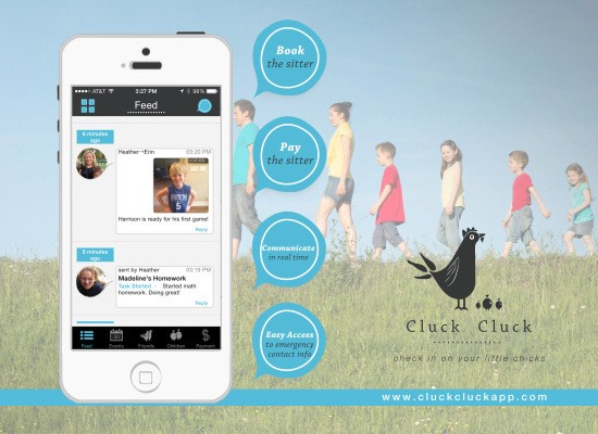 CluckCluck Helps Busy Parents Book, Pay And Message Their Children's Caregivers