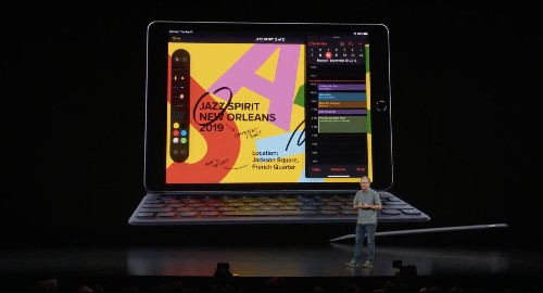 Apple debuts slightly bigger entry-level iPad