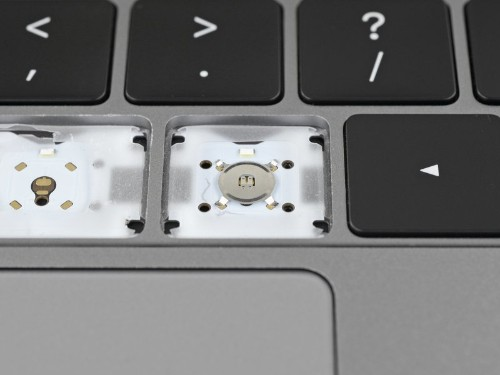 MacBook Pro teardown reveals subtle changes to keyboard mechanism
