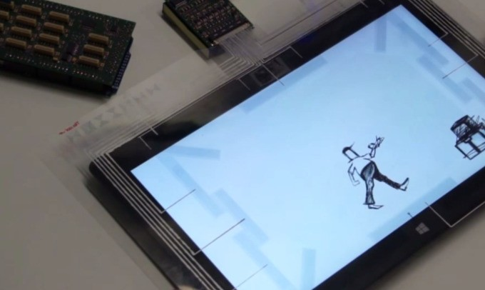 Microsoft's FlexSense Project Is A Thin Sensor Layer To Make Your Tablet Awesome